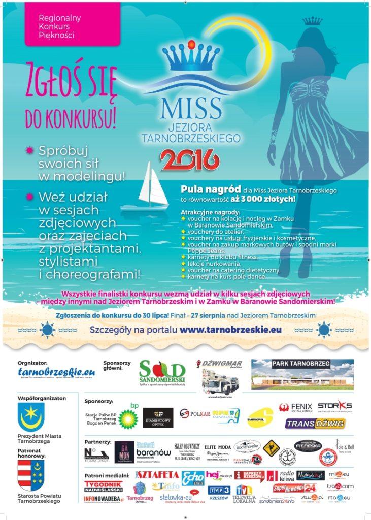 Plakat Miss 2016 v