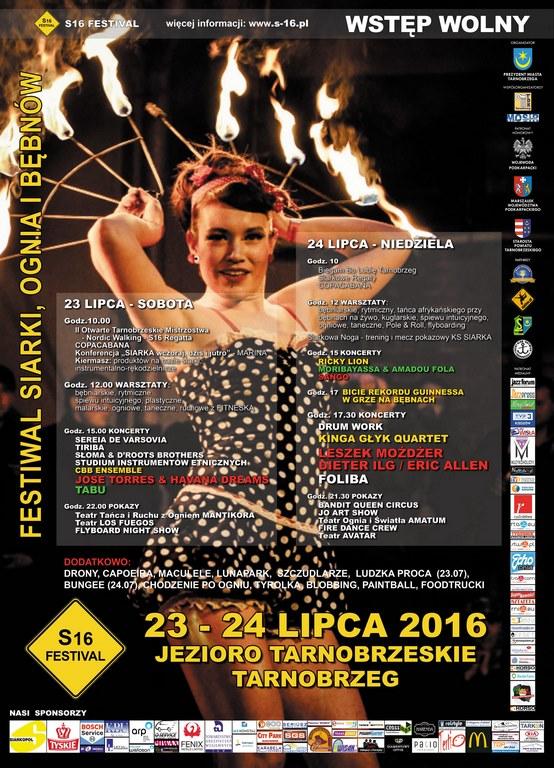 Festiwal Siarki Ognia i Bębnów S16