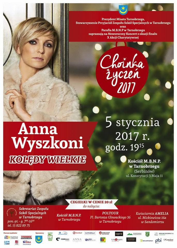 Anna Wyszkoni w Tarnobrzegu koncert