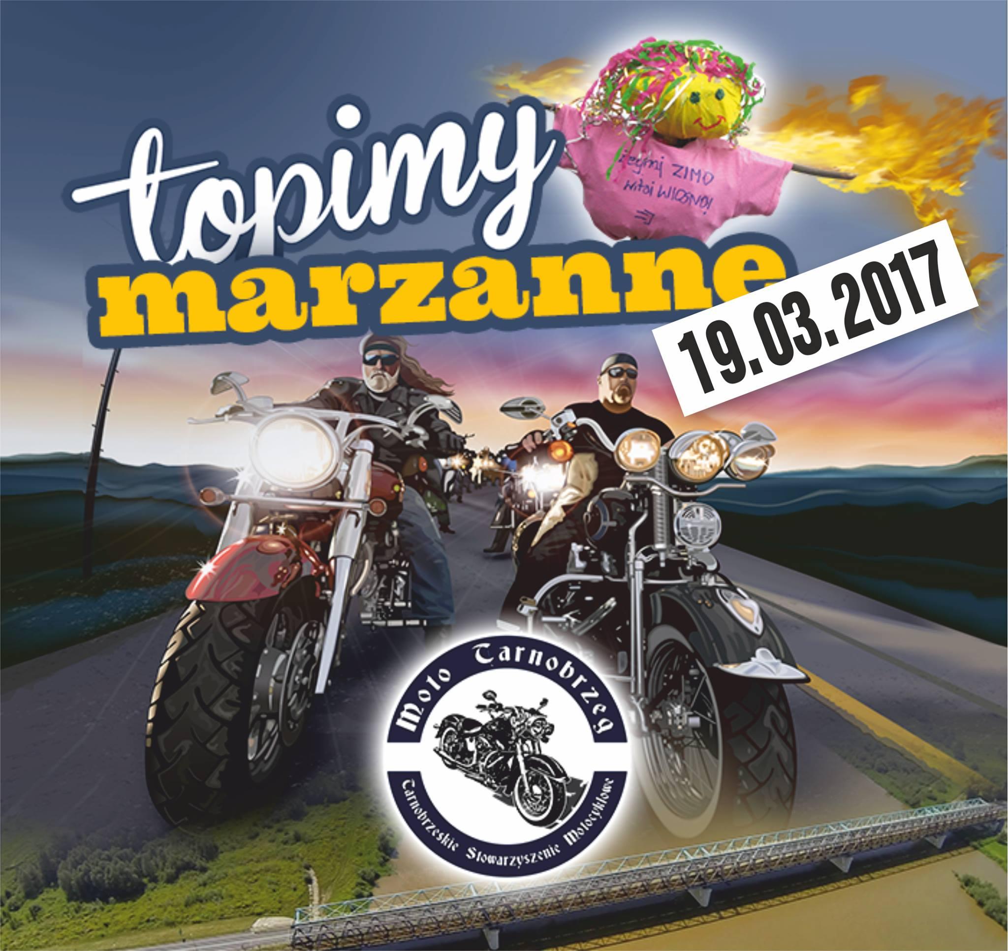 motocyklowe powitanie wiosny nad jeziorem tarnobrzeskim 2017