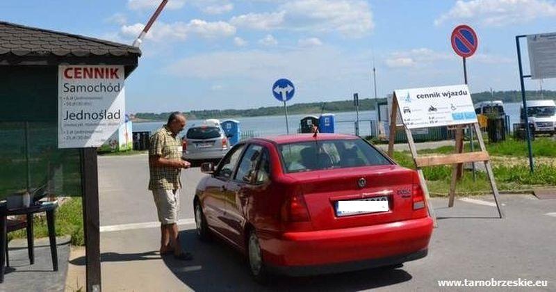 opłat za wjazd nad jezioro
