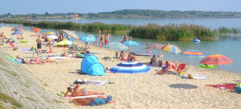 jeszcze wiecej piasku nad jeziorem tarnobrzeskim