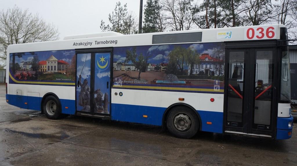 autobus z Sandomierza nad Jezioro Tarnobrzeskie
