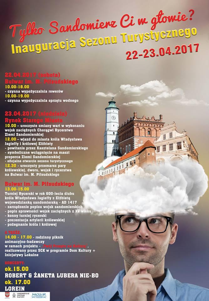 23 kwietnia otwarcie sezonu turystycznego w Sandomierzu