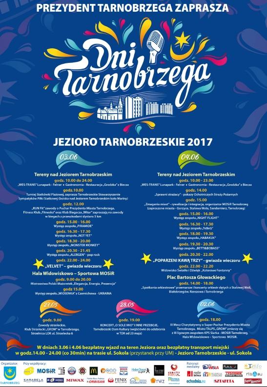 dni tarnobrzega 2017 szczegolowy program