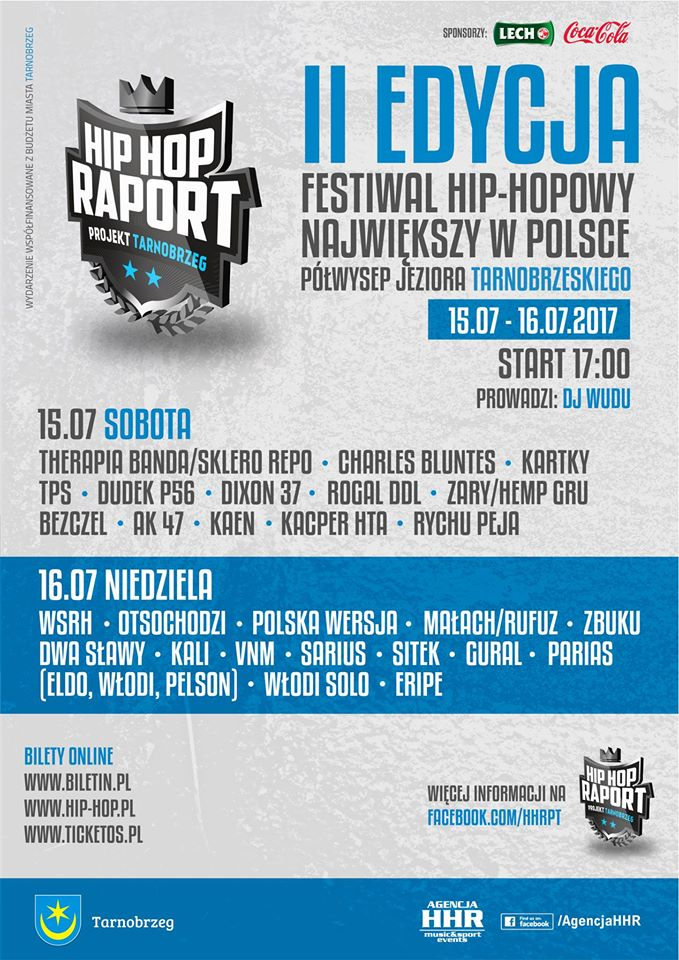 program Hip Hop Raport Projekt Tarnobrzeg 2017