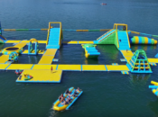 wodny park rozrywki nad jeziorem tarnobrzeskim