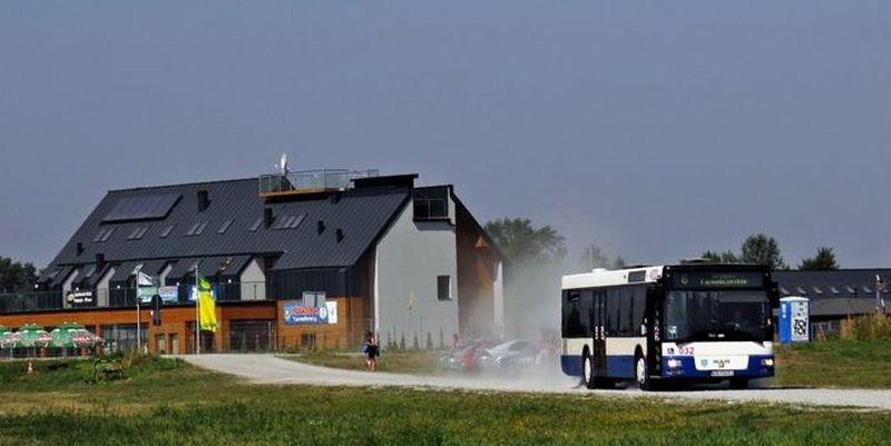 autobus nad jezioro tarnobrzeskie