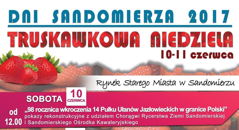 dni sandomierza 2107 truskawkowa niedziela