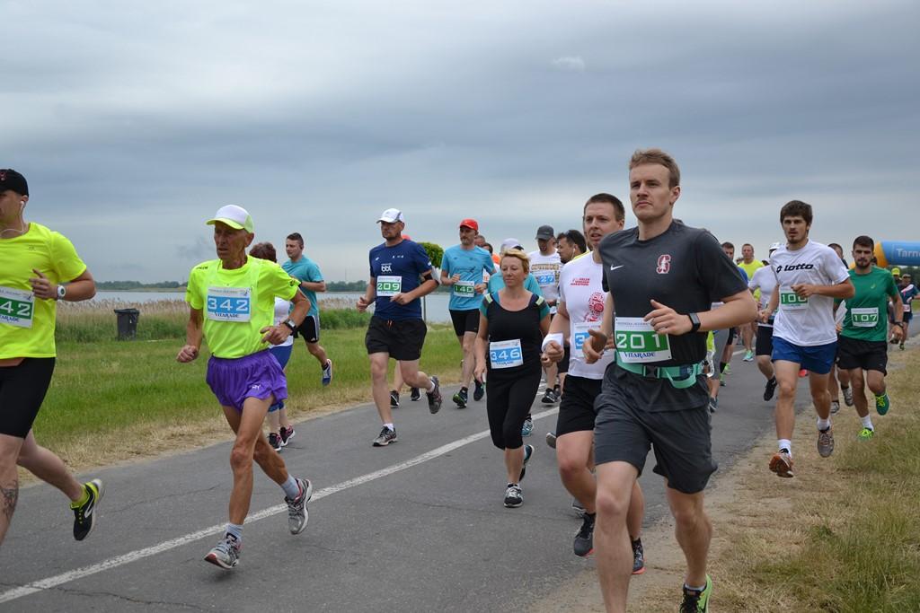 maraton jezioro tarnobrzeskie 2018