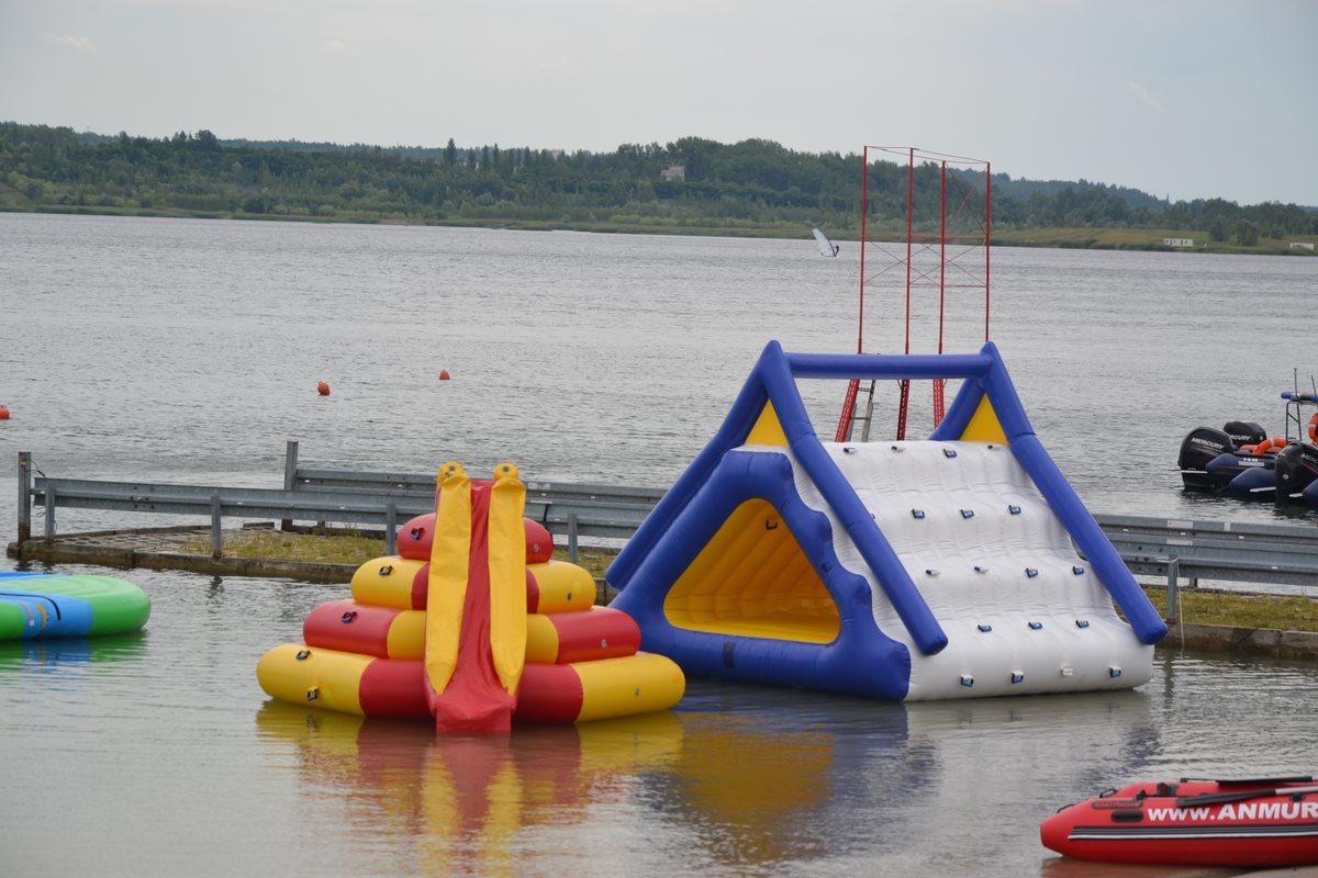 otwarcie odnego parku rozrywki nad jeziorem tarnobrzeskim