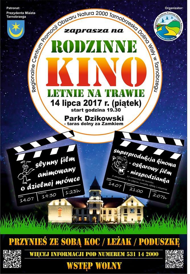 kino letnie w parku przy zamku dzikowskim4