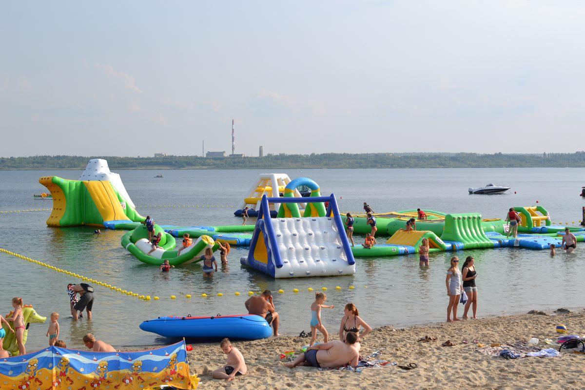Ostatnia niedziela sierpnia nad jeziorem [ZDJĘCIA]