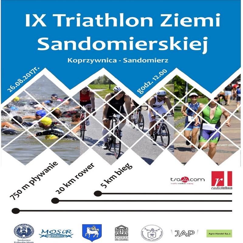 triathlon ziemi sandomierskiej