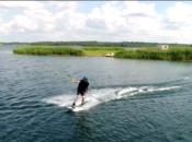 wyciągi wakebordowe nad jeziorem tarnobrzeskim