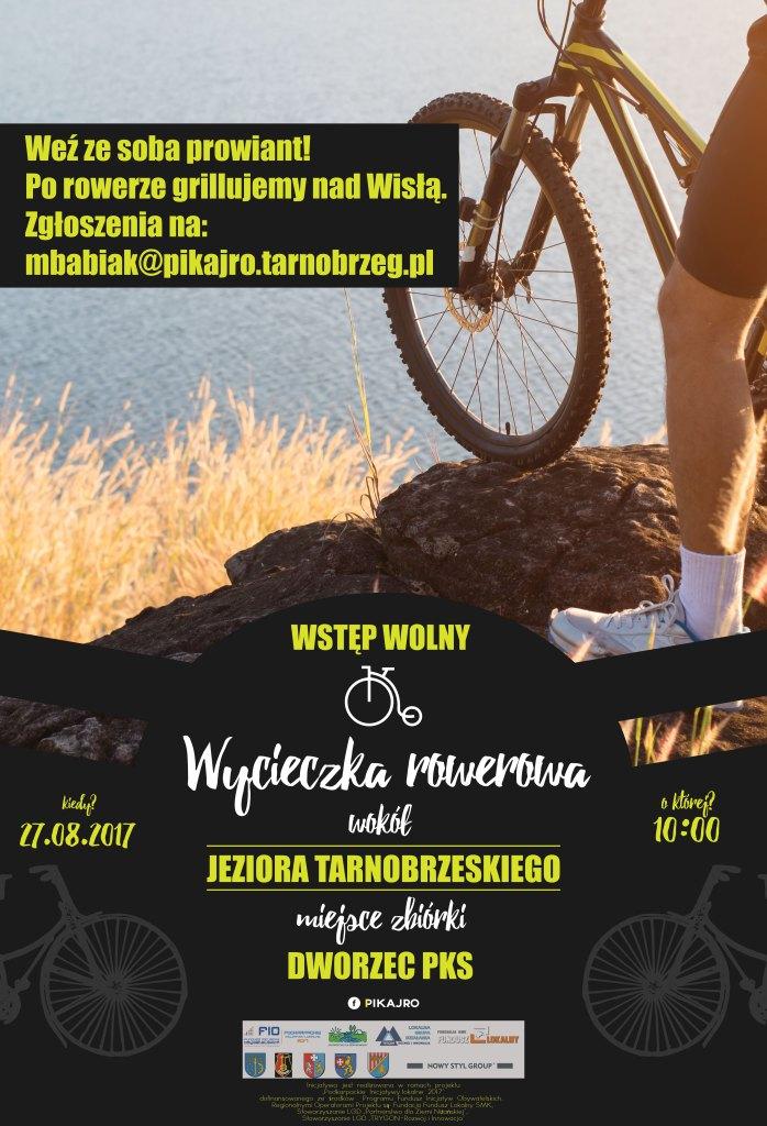 wycieczka rowerowa wokol jeziora tarnobrzeskiego