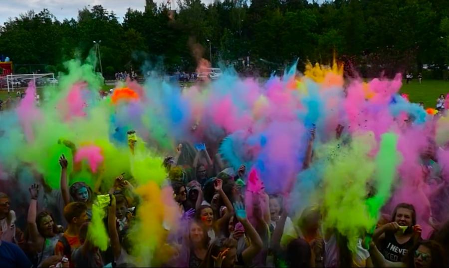 eksplozja kolorów w stalowej woli