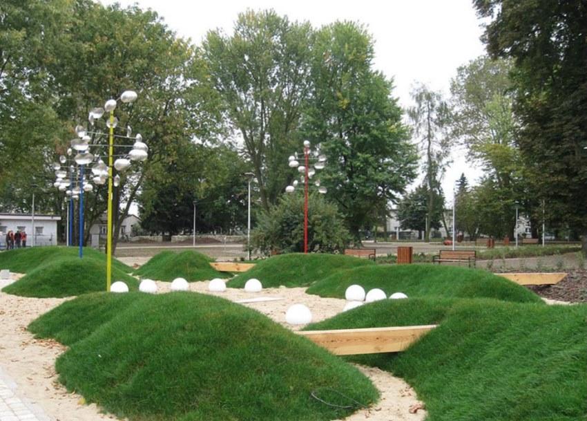 nowy park w tarnobrzeg