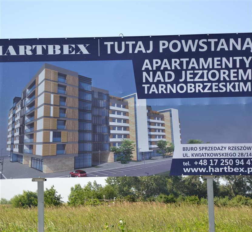 Nad Jeziorem Tarnobrzeskim powstaną apartamentowce? Jest zielone światło!
