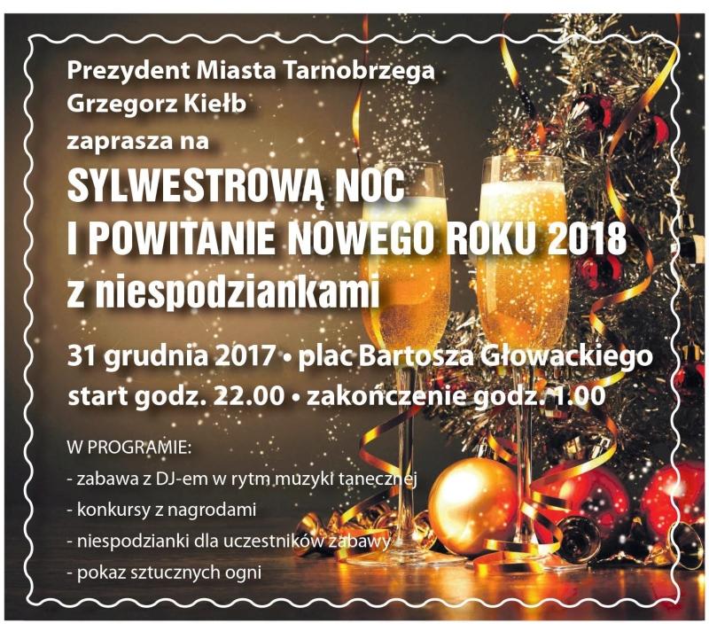 Sylwester 2018 na tarnobrzeskim rynku. Sprawdź program!