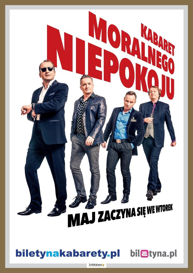 Kabaret Moralnego Niepokoju w Sandomierzu. Wygraj blilety!