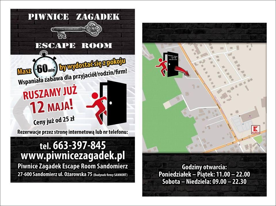 escape room sandomierz