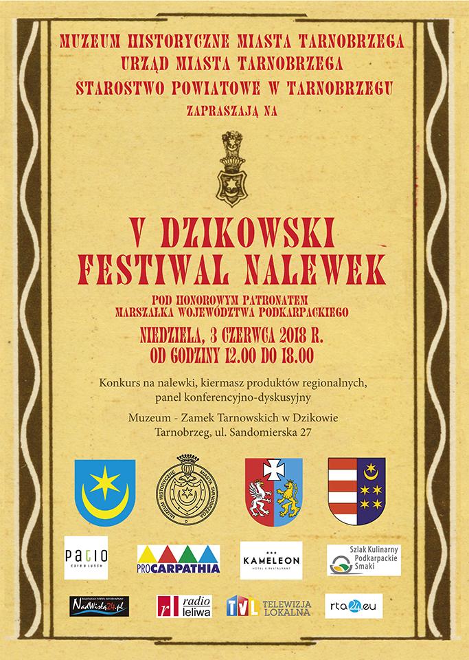 v dzikowski festiwal nalewek 2018