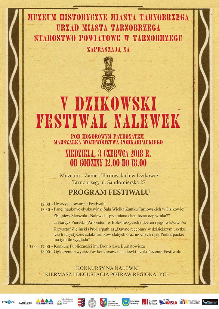 v dzikowski festiwal nalewek