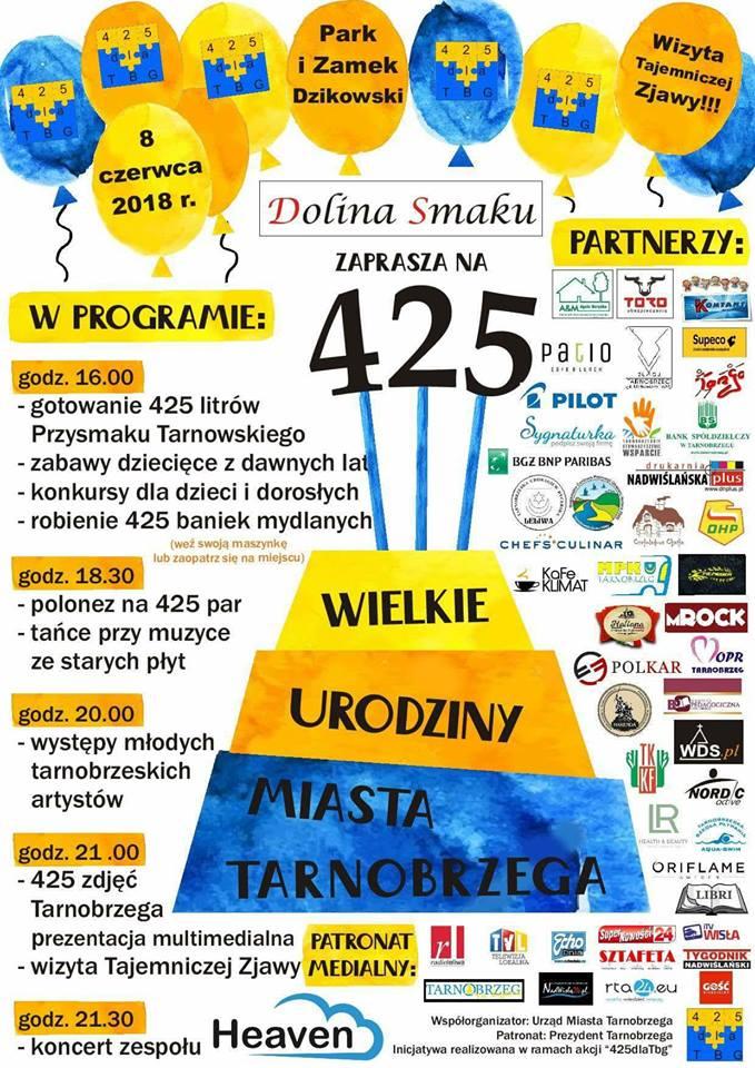 Dziś Wielkie Urodziny Miasta Tarnobrzega! Huczna impreza w parku! - tarnobrzeskie.eu