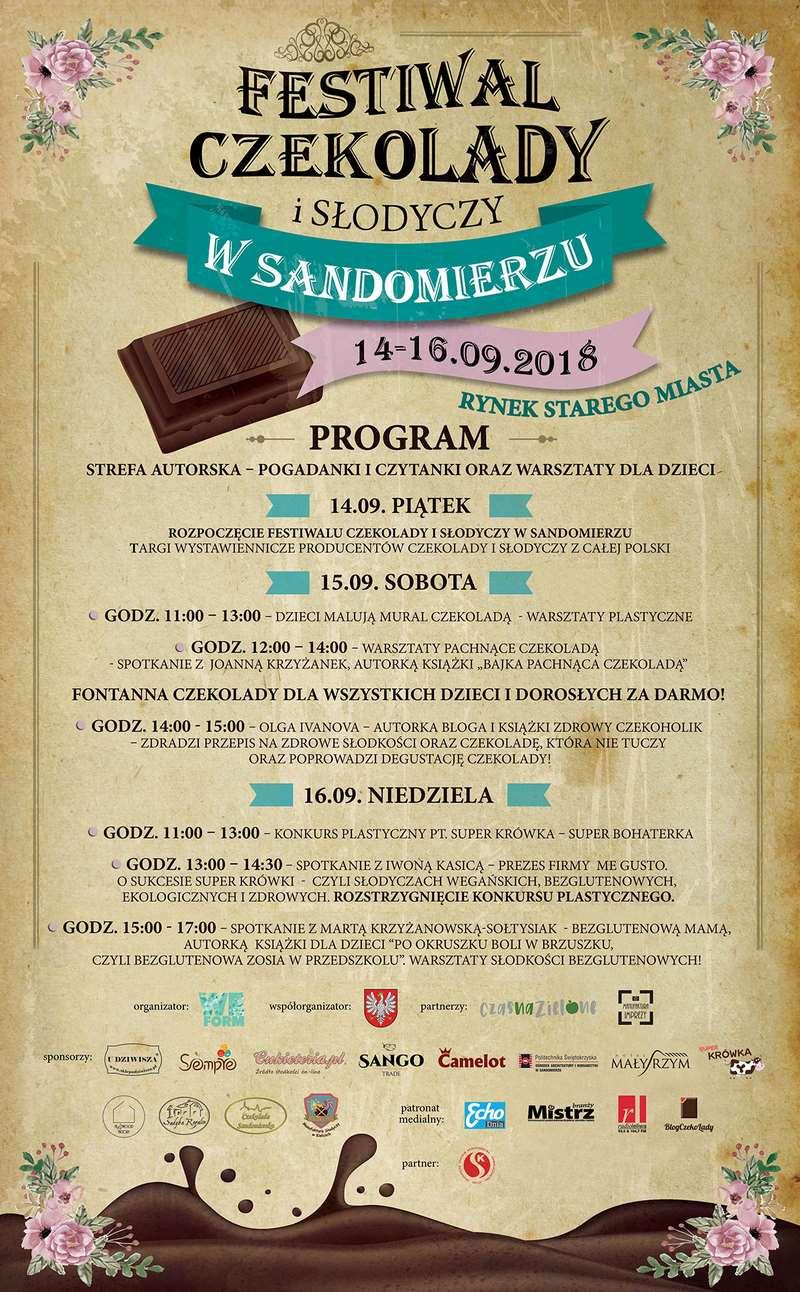 Trwa Festiwal Czekolady i Słodyczy w Sandomierzu! Sprawdź program!